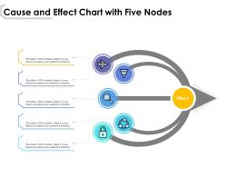 Cause And Effect Chart With Five Nodes
