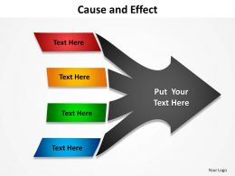 Cause And Effect Powerpoint Slides 11