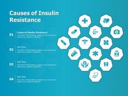 Causes Of Insulin Resistance Ppt Powerpoint Presentation Slides Objects