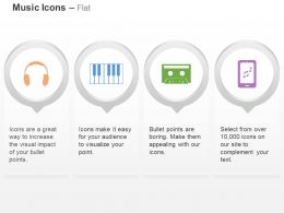 cb_headphone_piano_cassette_listening_music_ppt_icons_graphics_Slide01