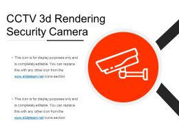 Cctv 3d Rendering Security Camera