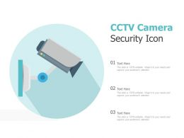 CCTV Camera Security Icon