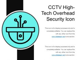 Cctv High Tech Overhead Security Icon