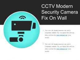 Cctv Modern Security Camera Fix On Wall
