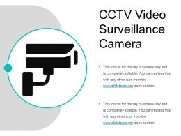 Cctv Video Surveillance Camera