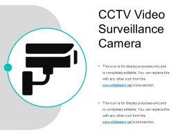 Cctv Video Surveillance Camera