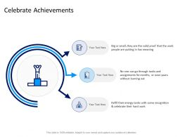 Celebrate Achievements Ppt Powerpoint Presentation File Aids