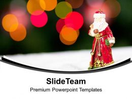 Celebrate Christmas With Your Family PowerPoint Templates PPT Themes And Graphics 0513
