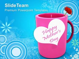Celebrate Motherhood On Mothers Day PowerPoint Templates PPT Themes And Graphics 0513