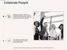 Celebrate People Communication Ppt Powerpoint Presentation Professional Template