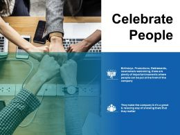Celebrate People Planning Ppt Infographics Slide Download