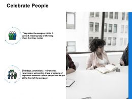 Celebrate People Promotions Ppt Powerpoint Presentation Portfolio Example File