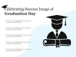 Celebrating Success Image Of Graduation Day