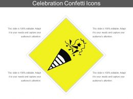 Celebration Confetti Icons