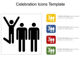 Celebration Icons Template