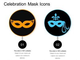 Celebration Mask Icons