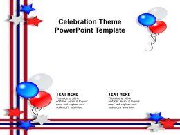 Celebration Theme Powerpoint Template