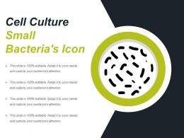 Cell Culture Small Bacterias Icon
