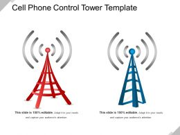 Cell Phone Control Tower Template Good Ppt Example