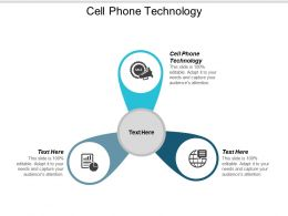 Cell Phone Technology Ppt Powerpoint Presentation Ideas Portfolio Cpb