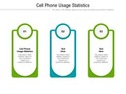 Cell Phone Usage Statistics Ppt Powerpoint Presentation Professional Background Images Cpb
