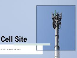 Cell Site Structure Communications Equipment Network Wireless