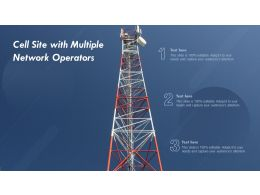 Cell Site With Multiple Network Operators