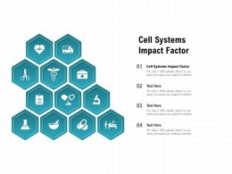 Cell Systems Impact Factor Ppt Powerpoint Presentation Portfolio Designs