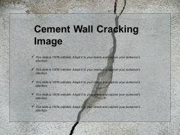 Cement Wall Cracking Image