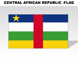 Central African Republic Country Powerpoint Flags