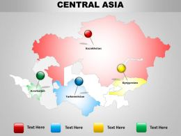 Central Asia Map Layout 1114
