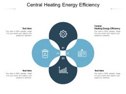 Central Heating Energy Efficiency Ppt Powerpoint Presentation File Objects Cpb