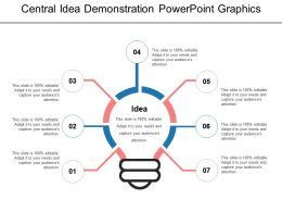 Central Idea Demonstration Powerpoint Graphics