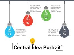 Central Idea Portrait Powerpoint Images