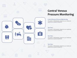 Central Venous Pressure Monitoring Ppt Powerpoint Presentation Gallery Slides