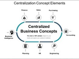 Centralization Concept Elements Ppt Images Gallery