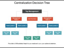 Centralization Decision Tree Ppt Infographic Template