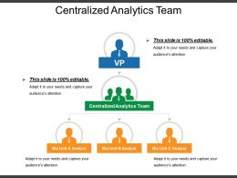 Centralized Analytics Team Ppt Presentation Examples