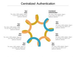 Centralized Authentication Ppt Powerpoint Presentation Portfolio Infographics Cpb