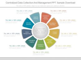 Centralized Data Collection And Management Ppt Sample Download