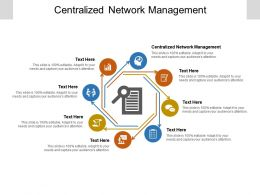 Centralized Network Management Ppt Powerpoint Presentation Model Guidelines Cpb