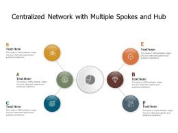 Centralized Network With Multiple Spokes And Hub