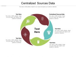 Centralized Sources Data Ppt Powerpoint Presentation Layouts Portfolio Cpb