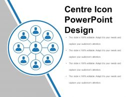 Centre Icon Powerpoint Design