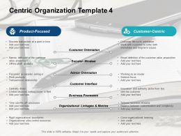 Centric Organization Template Business Processes Ppt Powerpoint Presentation Pictures