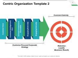 Centric Organization Template Loyalty Ppt Powerpoint Presentation Pictures Files