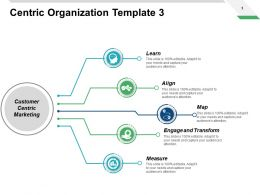 Centric Organization Template Measure Ppt Powerpoint Presentation Pictures Icon