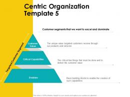 Centric Organization Template Value Customer Centric Approac Ppt Presentation Outline Files