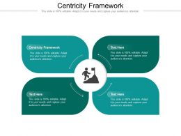 Centricity Framework Ppt Powerpoint Presentation Professional Skills Cpb