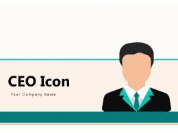 CEO Icon Business Organization Leadership Multinational Growth